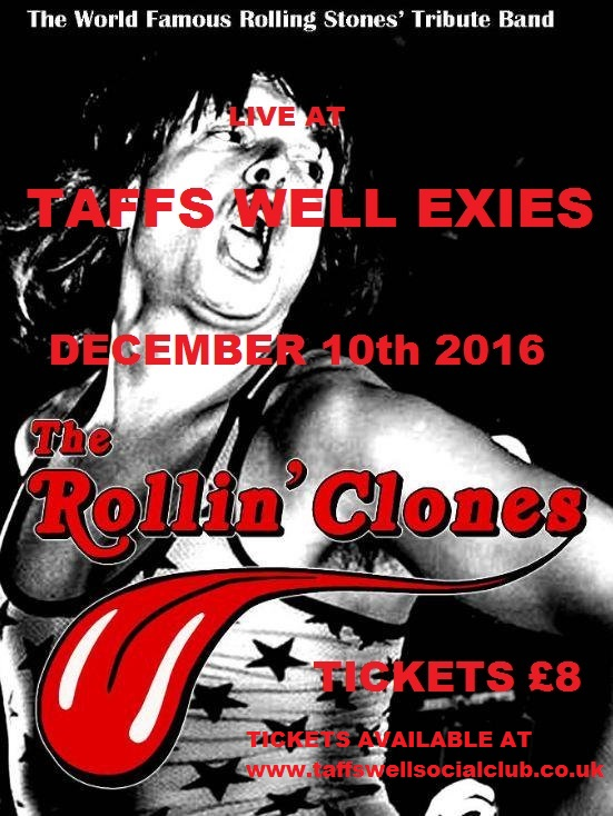 THE ROLLIN CLONES-TAFFS WELL EXIES-10-12-2016