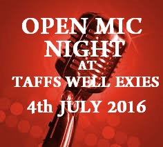 OPEN MIC NIGHT-TAFFS WELL EXIES