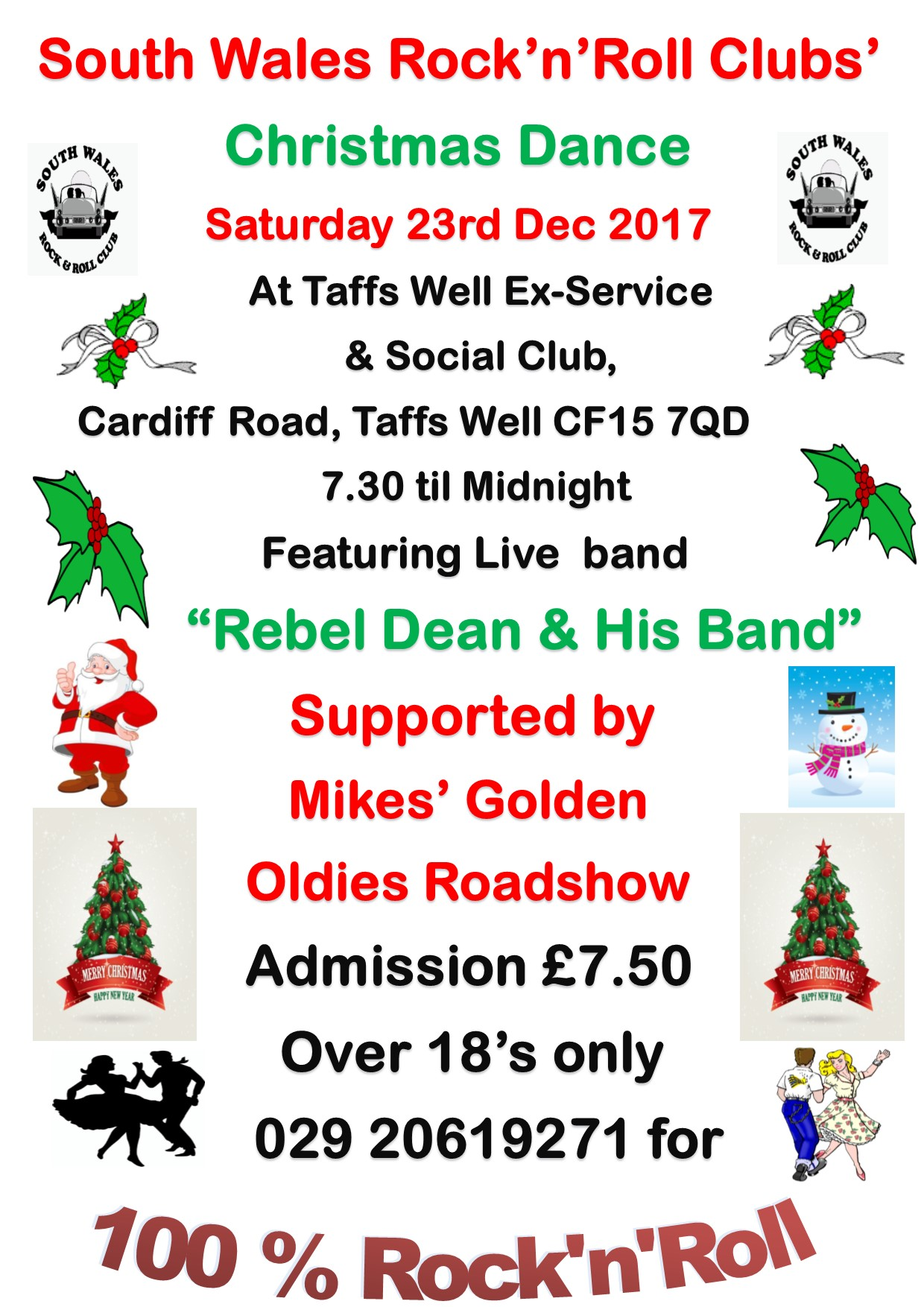 christmas dance-taffs well exies-23-12-2017