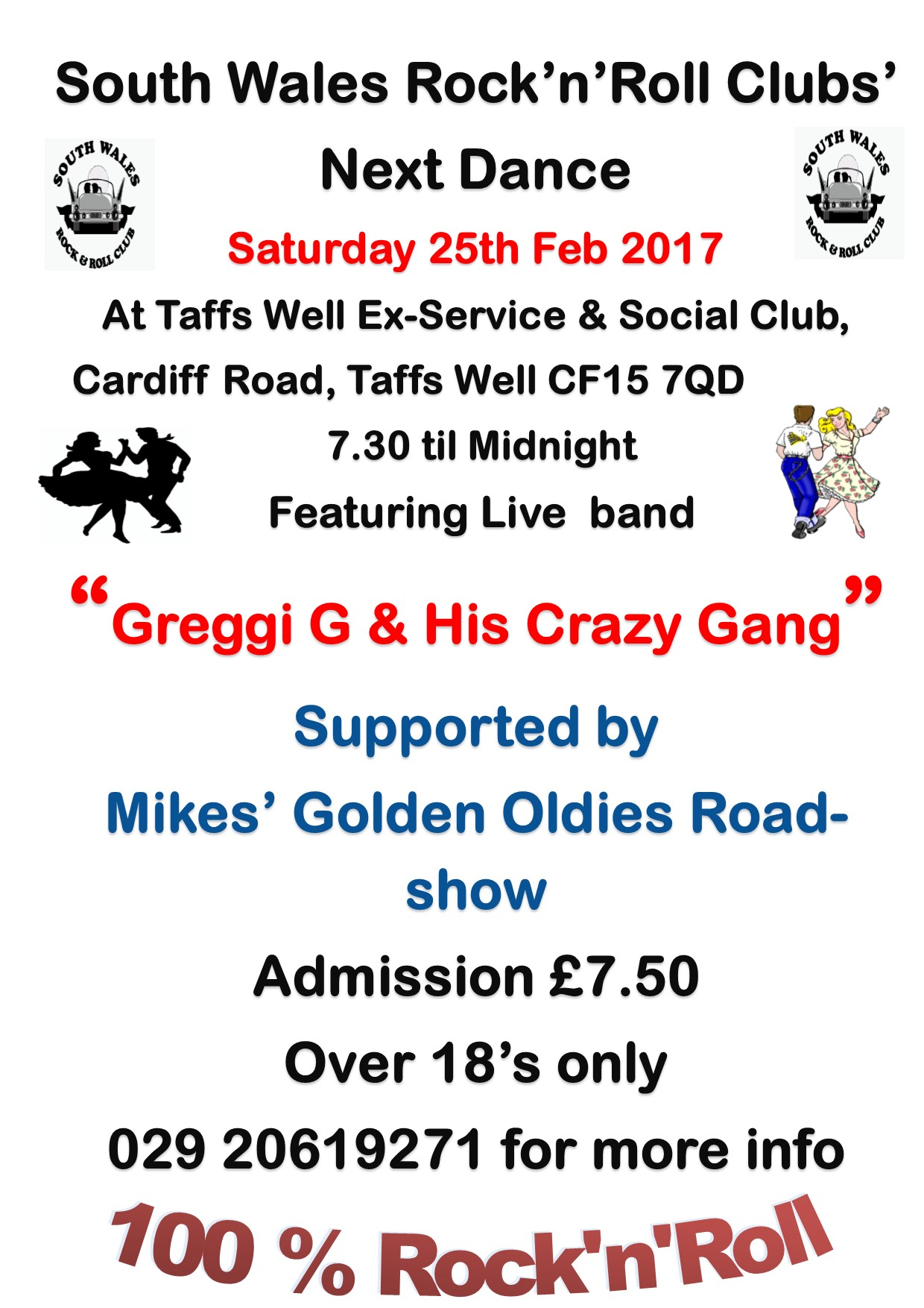 greggi g amd his crazy gang-taffs well exies=25-02-2017