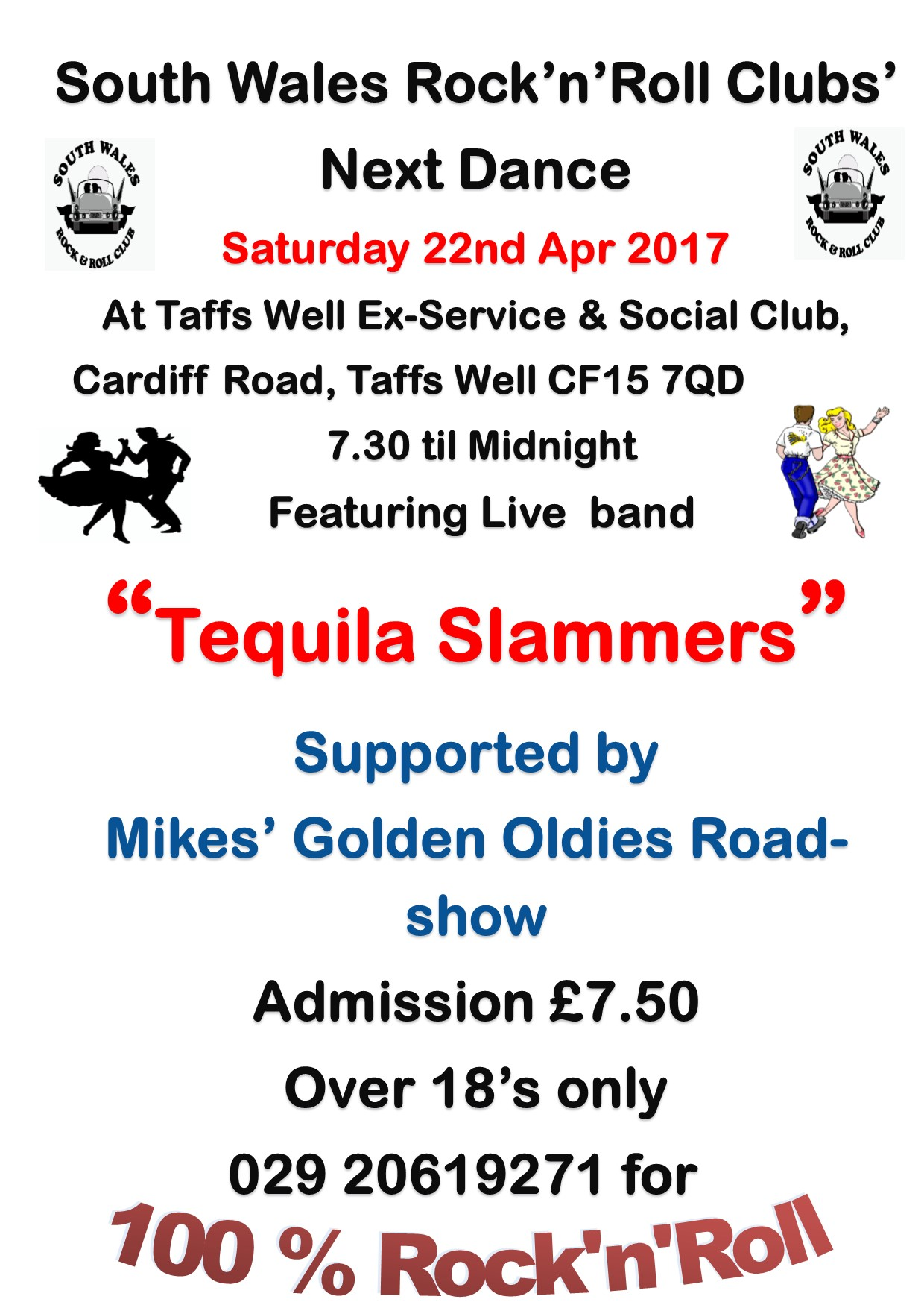 tequila slammers-taffs well exies-22-04-2017